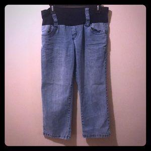 Medium Capri Maternity Jeans by planet motherhood